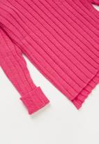 Rebel Republic - Teens ribbed knit - pink