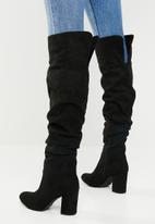 Madison® - Kadin over the knee boot - black