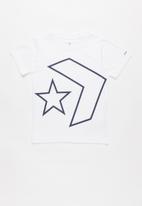 Converse - Cnvb titled star chevron - white