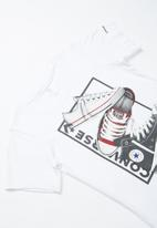 Converse - Cnvb stacked rectangle shoes tee - multi