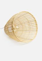 Sixth Floor - Woven pendant - natural