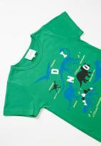 POP CANDY - Dinos tee - green multi