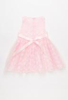 POP CANDY - Printed sleeveless dress - pink