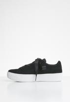 PUMA - Puma vikky platform ribbon jr - black