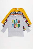 POP CANDY - Kids 3 pack long sleeve top - multi