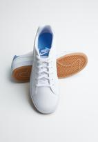 Nike - Nike court royale gs - white/white-university blue