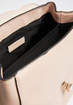 MANGO - Flap tote bag - pink