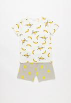 POP CANDY - Banana print pj set - multi