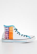 Converse - Chuck Taylor all star hi - white/gnarly blue/white