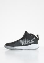 Nike - Team hustle D 9 (ps) - black/metallic silver