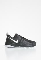 Nike - Nike team hustle quick (gs) - black & white