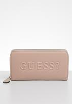 GUESS - Rigden medium zip around - pink