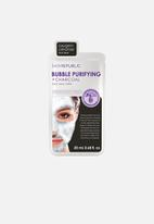 Skin Republic - Bubble Purifying + Charcoal Face Mask