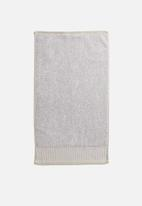 Linen House - Plush hand towel - oatmeal