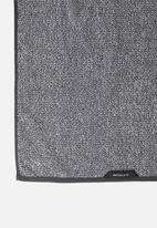 Linen House - Plush marle bath mat - charcoal