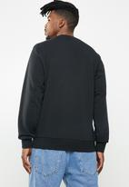 Converse - Star chevron crew neck sweatshirt - black
