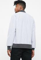 Only & Sons - Edward bomber jacket - black & white