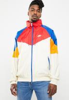 Nike - M nsw he wr jacket hoodie  - multi