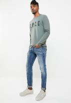 S.P.C.C. - The dark mist sweatshirt - grey