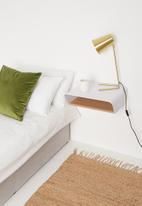 Emerging Creatives - Stockholm minima bedside table - white