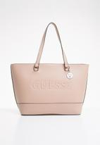 GUESS - Rigden tote - pink