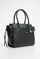 GUESS - Smoke satchel - black