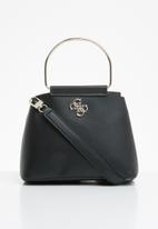 GUESS - Kim mini crossbody top zip - black