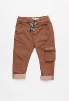 Cotton On - Kieran cargo pant - brown