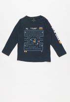 name it - Pacman top - navy