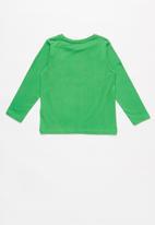 name it - Baskate you win print top - green