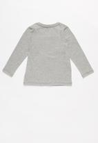 name it - Bamax top - grey