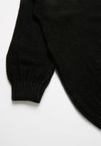Rebel Republic - Teens knit - black