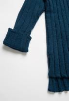 Rebel Republic - Teens ribbed knit - blue