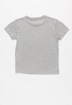 POLO - Daniel printed short sleeve tee - grey