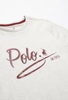 POLO - Teens jada printed short sleeve tee - multi
