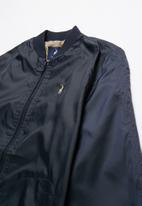POLO - Boys Gregory baseball jacket - navy