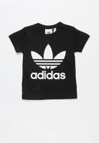 adidas Originals - Adidas trefoil tee - black