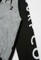 Rip Curl - Camo raglan - black & grey