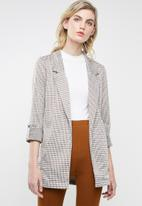 Superbalist - Longline knit unlined blazer - multi