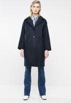 Superbalist - Melton coat - navy