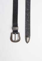 New Look - Infinity knot western bag - black