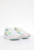 New Balance  - 997 - green & pink