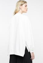 Superbalist - Oversized sweat - white