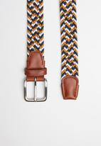 Jack & Jones - Spring woven belt - multi