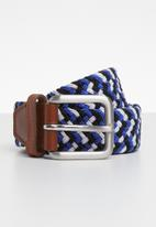 Jack & Jones - Spring woven belt - multi