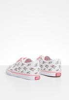 Vans - Td authentic - white & pink