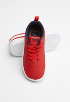 PUMA - Courtflex inf - red & peacoat