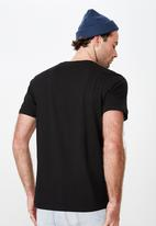Cotton On - Tbar collab tee - black