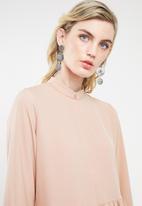 Superbalist - Mini flared dress - pink
