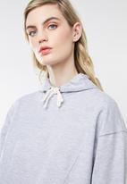 Superbalist - Longline hood - grey